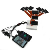 Solar Power Tree Charger, Solar Christmas Tree Charger Wiht Solar