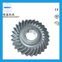 Quality Precision Forging OEM Spring Helical Spiral Bevel Gear Customized 20 Degree for sale