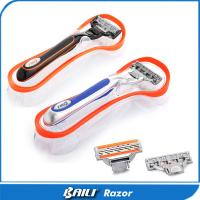 Quality Metal Ladies Shaving Razor 3 and 5 Stainless Blade Big Shaving Shaver for sale