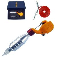 Quality Yellow Color Pipe Motor Rotary Tattoo Machine Kit for sale