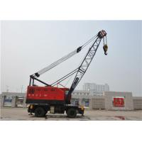 Quality Rubber Tyred Mobile Gantry Crane For Harbour Loading Unloading Cargos 18-36m Span for sale