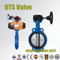 Quality Single Acting or Double Acting Pneumatic Butterfly Valve for sale