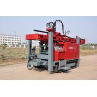 Quality Safety Self - propelled Crawler Mounted Water Well Drilling Rig 400m 2-5 inch for sale