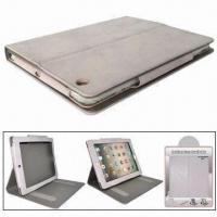 Quality Leather Case for iPad 2, with Stand Function, Different Colors are Available for sale