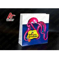Buy cheap Food Carrier Retro Retail Paper Bags , Custom Printed Paper Lunch Bags product