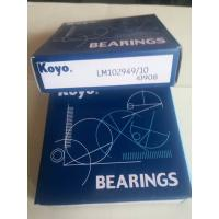Quality JAPAN KOYO bearing taper roller bearing LM102949/10 bearing 45.242mm* 73.431mm* 19.558mm export all over the world for sale