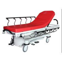 Quality Red Color ABS Luxury Stretcher Hospital Emergency Bed , Easy To Clean for sale