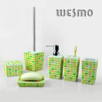 Quality 6 Piece  Polyresin Bathroom Set for sale