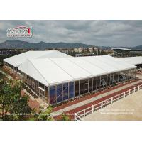 Buy cheap 25 Meter Width Glass Marquee Tent For Temporary Horse Riding Tear Resistant from wholesalers