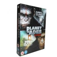 China hot sall movie hight boxoffice  dvd boxset Dawn of the plante of the apes 1-2 2dvssealed  with slip case on sale