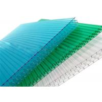 Quality 10mm Thickness Plastic Honeycomb Polycarbonate Sheet 100% Virgin Material Anti Weather for sale