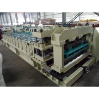 Quality Steel Rollers Step Tile Roll Forming Machine Automatic for Metal Tile for sale