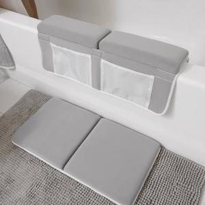 China Compact Kneeling Bath Mat , 1.5 Memory Foam Kneeling Pad For Bath Time on sale
