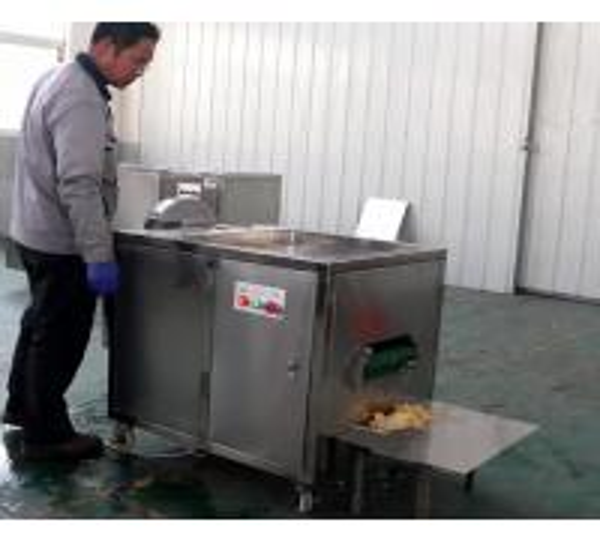Buy High Capacity Banana Chips Production Line Green Banana Slicing Machine 0.74kw Power at wholesale prices