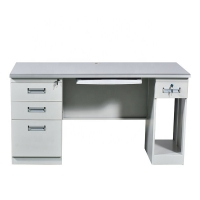 Quality Modern Office Furniure Home BSCI Steel Computer Table Desk for sale