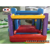 China Mini Inflatable Bouncer , House Inflatable Jumping Bed For Kid on sale