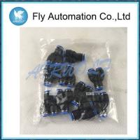 Buy cheap Plastic Festo Push In Connector QSY-10-8 153155 Reducing Outlets Black Color from wholesalers