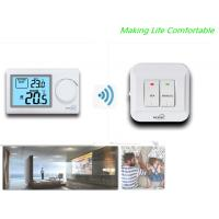 Buy cheap ABS Shell RF Room Thermostat For HVAC System / Gas Boilers Accuracy ±0.5°C from wholesalers
