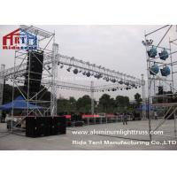 Durable Lightweight Lighting Truss400mmX400mm Size Strong Loading Capability