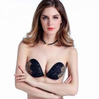 Lace strapless bra Backless Stick On Push Up Bra