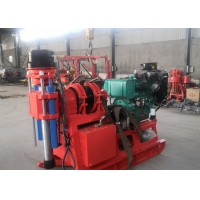 China XY-2B Water Well Borehole Drilling Rig Light Weight With High Installed Power on sale