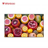 Quality Video Lcd Touch Screen Display 46'' Ultra Narrow Bezel Exhibition Hall Use for sale