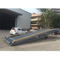 Buy cheap 2000mm Width Container Mobile Yard Ramp 10 Ton / 15 Ton Light Grey Color from wholesalers