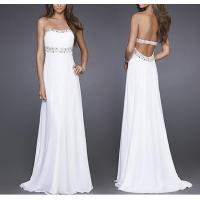 China Maxi Backless Evening Dresses , OEM, ODM Slim Prom Dresses on sale