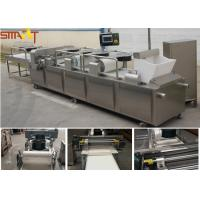 China Automatic Chocolate Candy Cereal Bar Forming Machine Multi Functional 1.1KW on sale