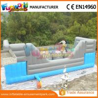 Buy cheap Blue and Grey Inflatable Big Baller Games for Kids Inflatable Obstacle Course for Adults product