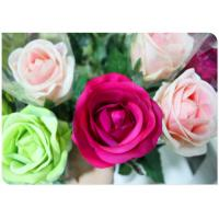 China Silk Simulation Artificial Flower Stems Sponge Paper Flowers Rod  with White on sale