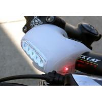 China electronic silicone bike light with handle on sale