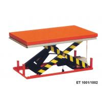 Quality 1000 Kg Vertical Electric Motorcycle Lift Table Mini Scissor For Cargo for sale