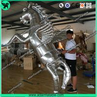Buy cheap Silver Inflatable Horse,Inflatable Horse Model,Inflatable Horse Cartoon from wholesalers