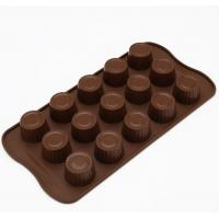 China Make Your Own Plastic Chocolate Molds , Chocolate Ball Mold Anti Bacetrial on sale