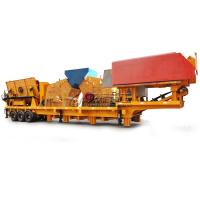 Quality Longzhen Competitive Price Mobile Crusher Plant for sale