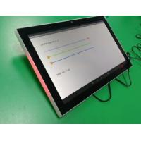 China 10 Inch PoE Wall Mount Android Tablet PC with LED bar and NFC Reader for Meeting room, conference touch display on sale