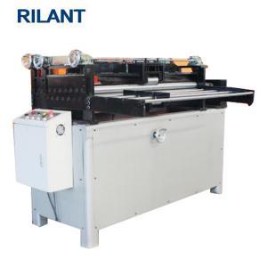 China Galvanized Metal Slitter Machine , Metal Cutting Machine Metal Straightening Machine on sale