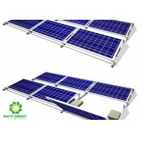 Quality 2020 Maintenance Energy Aluminum Brackets Solar Structure Ballasted Solar Mounting Systems Aluminum AL 6005-T5 Material for sale