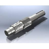 Quality High Precision Stainless Steel Gear Transmision output Shaft Assembly Customized for sale