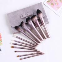 Quality Premium Synthetic Mini Makeup Brush Set Light Weight With Roll Bag Packing for sale