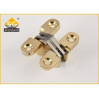 China Hidden Zinc Alloy Small Concealed Hinges For Lightweight Door Leaf on sale