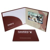 Quality 5 Inches Screen LCD Video Greeting Card High Resolution LCD Brochure Card for sale