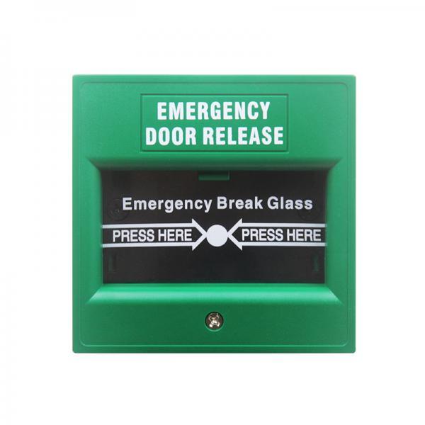Buy Plastic Notifier Manual Call Point Explosion Proof , Emergency Break Glass Door Release at wholesale prices
