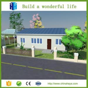 China HEYA high quality steel framed prefab well house homes wood in nepal price on sale
