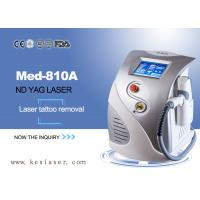 Buy cheap Q-Switched ND YAG Laser Tattoo Removal Machine , Age Spot Removal Machine product