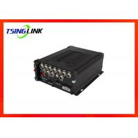 Quality GPS Hard Disk Recording Playback DVR Support OSD Menu 4G Vehicle 8CH MDVR for sale