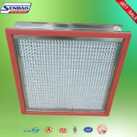 Quality Portable High Temp Hepa Filter Pharmaceutical Factory Clean Room H14 for sale