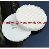 Quality Eco-friendly 3M Soft foam compounding Velcro pad for body face cleaning for sale