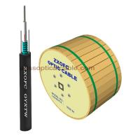 Quality Duct Aerial Direct Burial Fiber Optic Cable Single Mode GYXTW 4 6 8 12 Core for sale